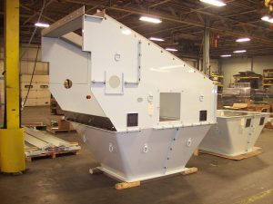 Specialty Welding and Fabricating of NY is one of the most reliable and productive fabricators of discharges, transfer chutes and hoppers in the U.S.A. Serving food, bulk material and energy industries.